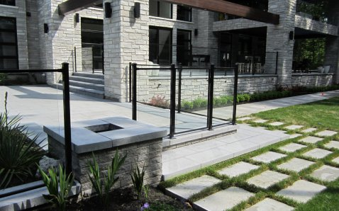 6mm glass with frame - Glass Ramps & Fences