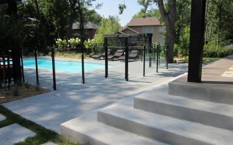 10mm glass - Glass Ramps & Fences